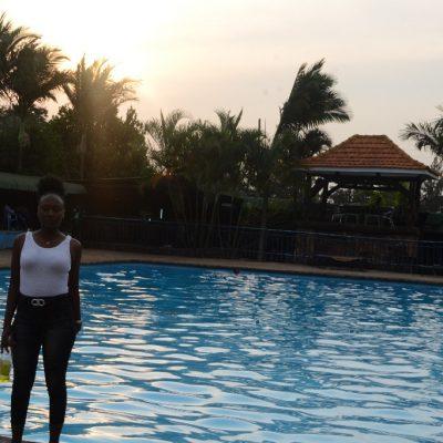 KRC Swimming Pool At Sunset