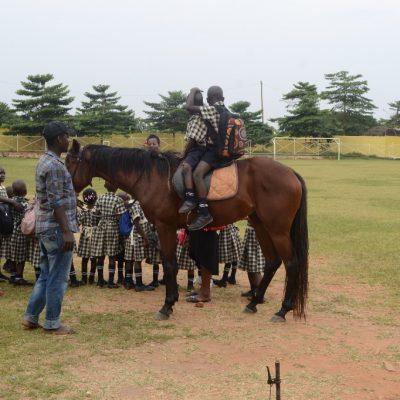 The children on the School Ride